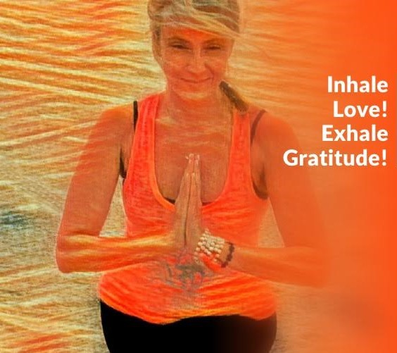 Image-inhale love exhale gratitute