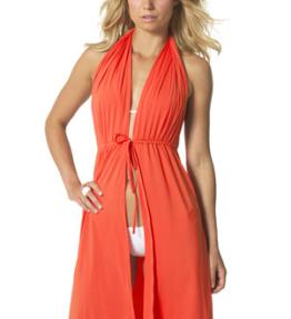 SC01 short orange- swimcover